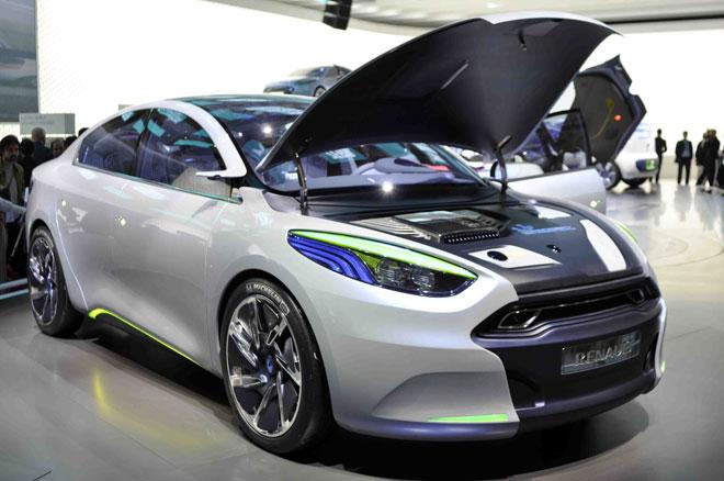 voiture electrique Fluence ZE Concept