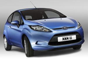 Ford Fiesta Econetic 1600 TDCI 90, seulement 98g CO2/km, bonus écologique 1000€