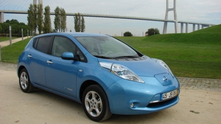 Nissan Leaf exterieur