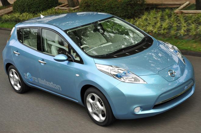 Nissan Leaf - voiture électrique