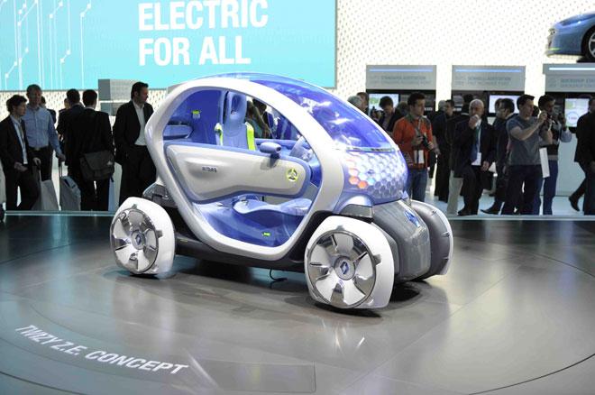 voiture electrique Twizzy ZE Concept