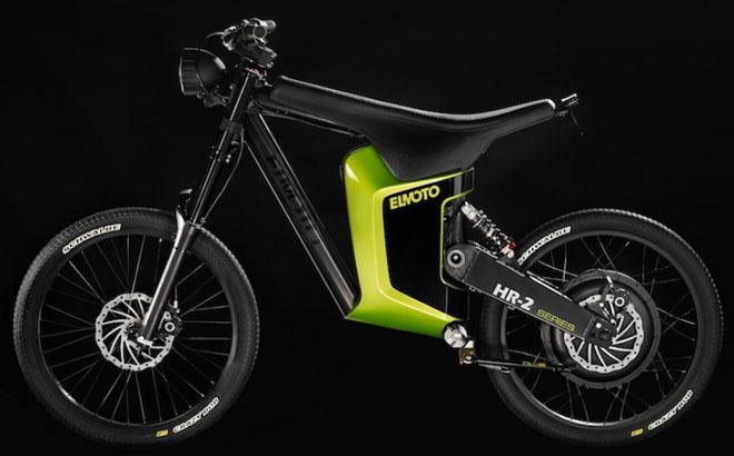 elmoto un v hicule lectrique entre le v lo le scooter et la moto eco. Black Bedroom Furniture Sets. Home Design Ideas