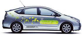 Toyota Prius Hybride Ecovisit Paris